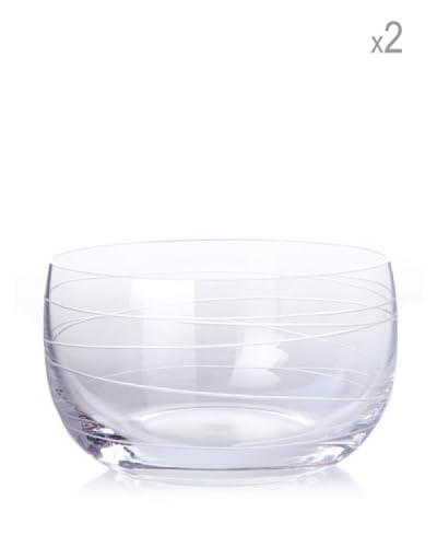 Cristal de Sévres Caja 2 Boles Bruyere