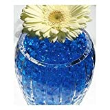 Water Pearls-BLUE-Centerpiece Wedding Tower Vase Filler-makes 6 gallons (8oz. pack)