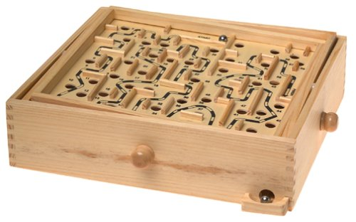 Wooden Labyrinth Puzzle Findgift Com