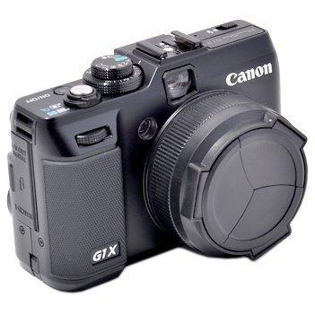 JJC ALC-G1X Automatik-Objektivdeckel (Schutzdeckel, Schutzkappe) für Canon PowerShot G1 X