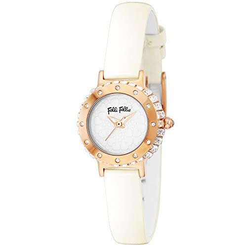 [フォリフォリ]FOLLI FOLLIE 腕時計 HEART4HEART ホワイト文字盤 ステンレス(PGPVD)ケース WF13B067SPW-WH レディース 【並行輸入品】