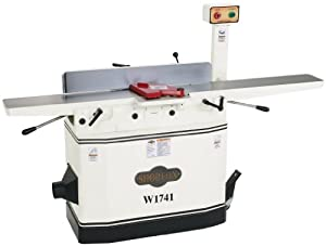Shop Fox W1741 8-Inch Jointer With Parallelogram Adjustable Beds by Shop Fox
