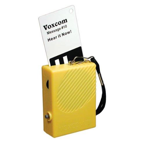 VOXCOM III 100 Voice Labeling