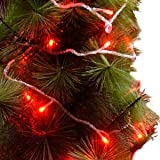 XMAS Party Garden String Fairy Lights 10M 100LED RED color Picture