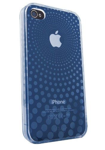 Ifrogz Soft Gloss Case For Iphone 4 (Blue)