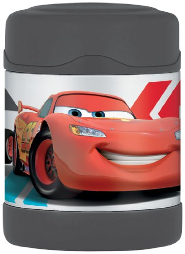 Thermos Funtainer Food Jar, Disney Cars, 10 Ounce (Thermos Soup Container With Spoon compare prices)
