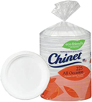 225-Count Chinet Paper Plates Big Party Pack