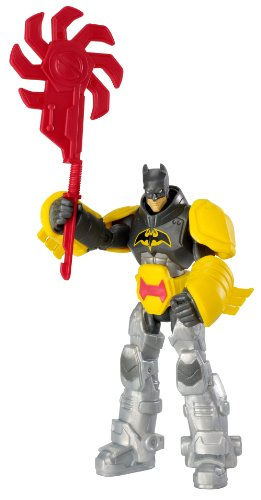 Batman Power Attack Solar Saw Batman Figure