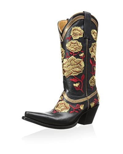 Lucchese Women's Embroidered Roses Boot