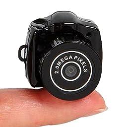 Mini Camera - Peyou® HOT New Smallest Mini Camera Camcorder Video Dv Dvr Hidden Web Cam