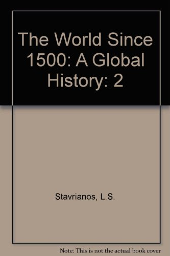 The World Since 1500: A Global History