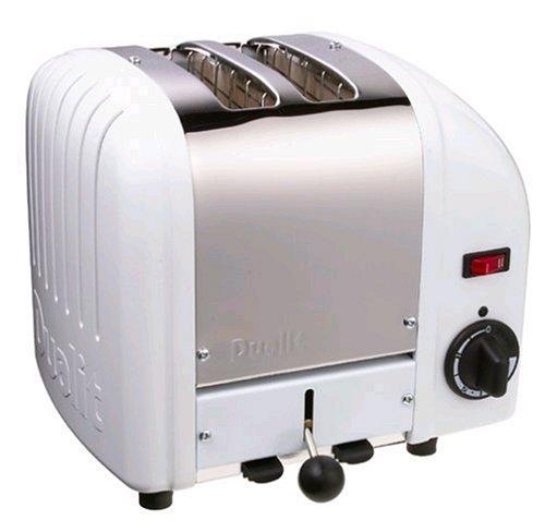 Dualit 2 Slice Toaster White 20248