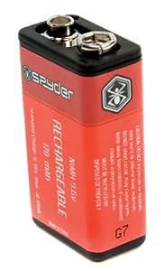 Spyder Paintball Rechargeable Battery 9.6v