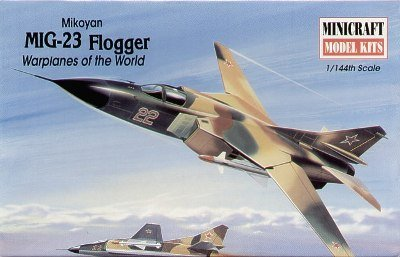 Mikoyan Mig23 Flogger Aircraft kit 1-144 by Minicraft