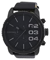 Diesel Gents Stainless Steel Watch with Leather Strap
