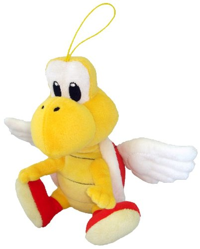 "Little Buddy Toys Koopa Paratroopa 6"" Plush - 1"