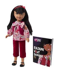 Corolle - Kinra Girls - V69680  - Poupée - Poupée Rajani et son Livre (collection 2012)