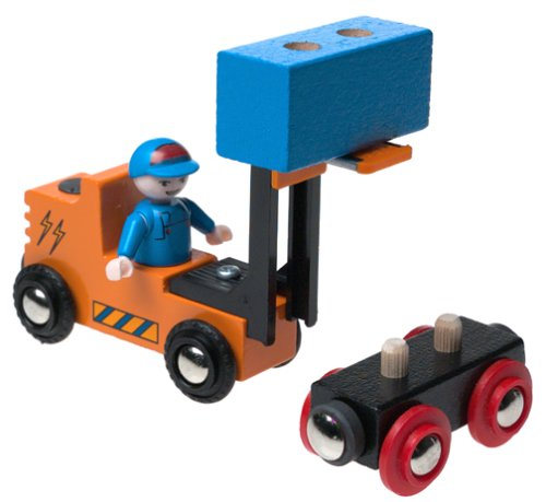 Brio Fork Lift and Wagon Set - Buy Brio Fork Lift and Wagon Set - Purchase Brio Fork Lift and Wagon Set (Brio, Toys & Games,Categories,Play Vehicles)