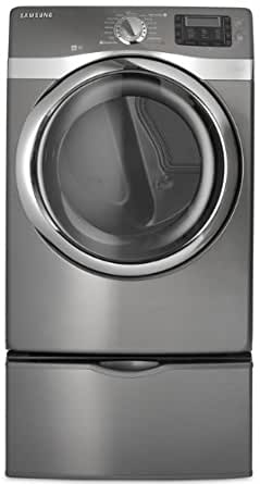 Samsung DV520AEP 7.5 Cu. Ft. Platinum Stackable With Steam Cycle Electric Front Load Dryer