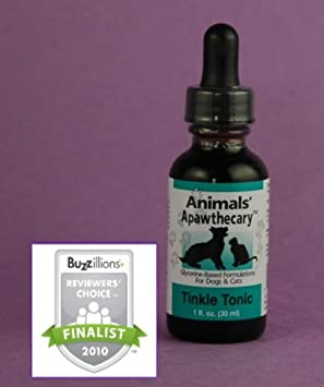 Animals' Apawthecary Tinkle Tonic for Dogs and Cats, 2oz