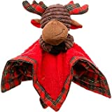 "Petco Holiday Spiffy Pals Moose Blanket Dog Toy, 12"" L X 12"" W X 4"" H"