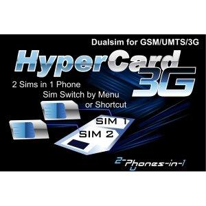 Hypercard 3G Adaptateur Digital Dualsim 3G