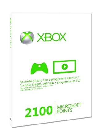 Xbox Live - Card 2100 Punti
