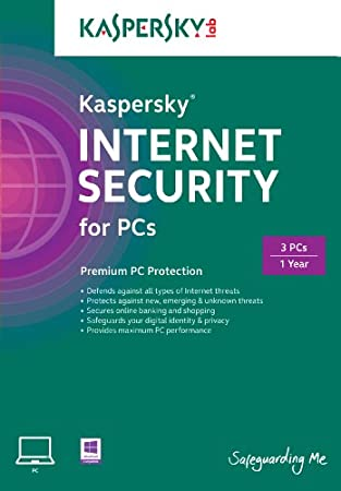 Kaspersky Internet Security 2015 3 User, 1 Year