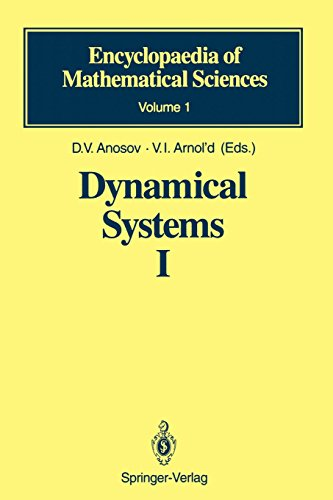 Dynamical Systems I: Ordinary Differential Equations and Smooth Dynamical Systems (Encyclopaedia of Mathematical Science