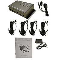 BAFX Products® - IR Repeater - Remote control extender Kit - Operate 1 to 8 devices! OR more!