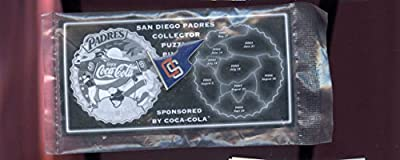San Diego Padres Baseball Pin Coca-Cola Collector Puzzle Set Pinset