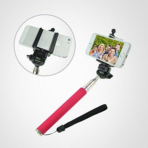 extendable handheld monopod self portrait selfie handheld stick monopod selfie with rod for all. Black Bedroom Furniture Sets. Home Design Ideas