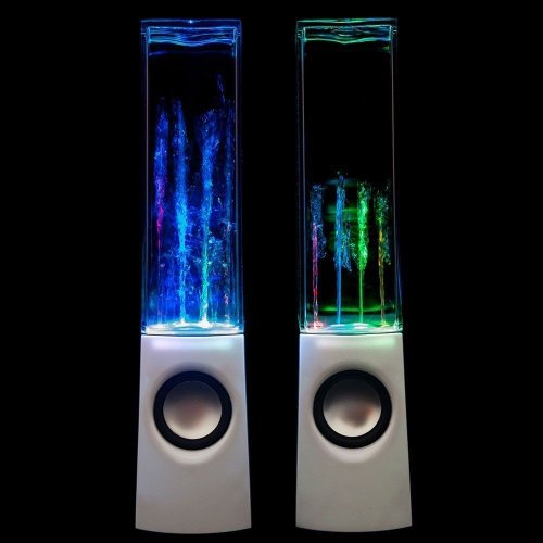 Ecvision Water Dancing Speakers White