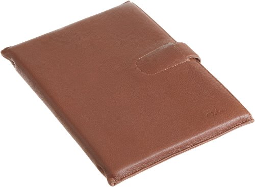 Cole Haan Hand-Stained Pebble Grain Leather Kindle DX Sleeve (Fits 9.7