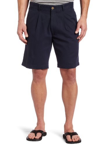 Dockers Men's Soft Khaki Shorts D3 Classic Fit Pleated
