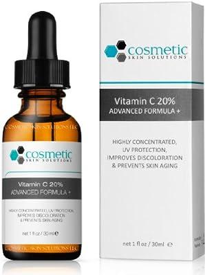 Vitamin C 20% serum + Phyto + Botanical Gel + Firming Eye Gel Advanced Formula +. Prevent / Lighten & Hydrate / Firm Eyes - 3 Combo Pack - 1 fl oz / 30 ml each.