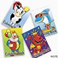 12-pack of Kid's Coloring Books ~ Great Party Favors!