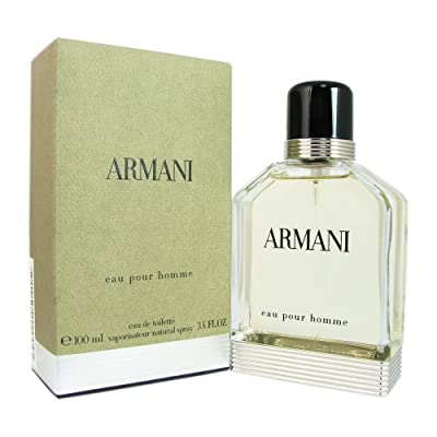 Giorgio Armani Eau de Toilette Spray for Men, 3.4 Ounce