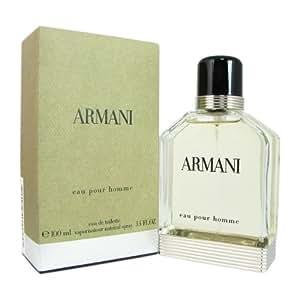 Giorgio Armani Eau de Toilette Spray for Men, 3.4 Ounce