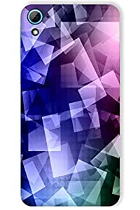 IndiaRangDe Hard Back Cover FOR HTC Desire 826