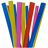 EXTRA LARGE Milkshake Straws 1/2 Inch Wide 8 1/2 Inch Long (50)