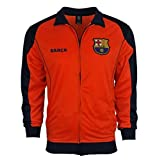 Rhinox Fc Barcelona Jacket Track Soccer Adult Sizes Soccer Football Official Merchandise Medium New Orange (Color: New Orange, Tamaño: Medium)