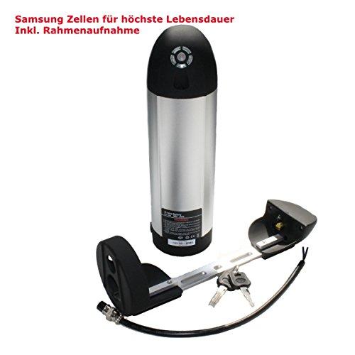 Akku 36V 9Ah Lithium Ionen Flaschenakku Ersatzbatterie für E-Bike Pedelec Elektrofahrrad z.B. Prophete, Zündapp NEU