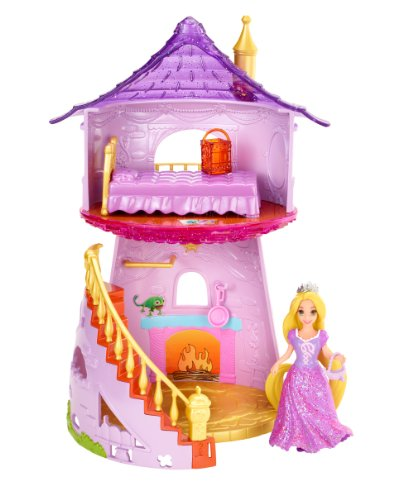 Disney Princess Little Kingdom MagiClip Rapunzel Playset (Mattel Clip Dolls compare prices)