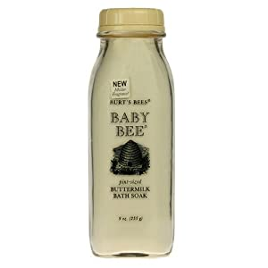 Burt's Bees Baby Bee, Pint-Sized Buttermilk Bath Soak 9 oz (212.6 g)