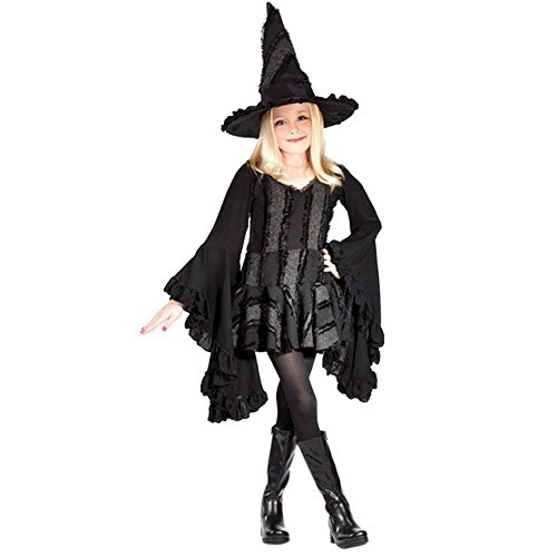Kid's Stitch Witch Costume (Size:SM 4-6)