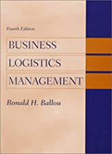 Business Logistics by Ronald H. Ballou