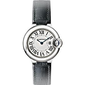 Cartier Ballon Bleu Silver Dial Stainless Steel Ladies Watch W69018Z4 from Cartier