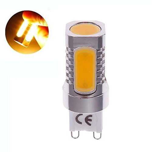 Fashion Partical High Power Aluminum G9 7W Cob Led Pure Warm White Light Bulb Lamp 220V