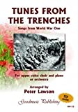 Peter Lawson Tunes From The Trenches - Songs from World War One SSA published by Goodmusic